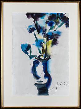 NANDOR MIKOLA, akvarell, signerad och daterad 2005.