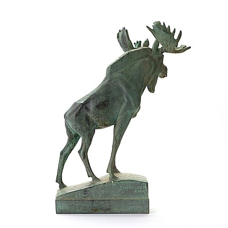 "Jussi mäntynen, ""viborgsälgen"" (the elk from viborg)"