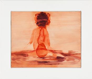 SUSANNE JOHANSSON (FD SIMONSON), SUSANNE SIMONSON, pannå, 32 x 40,2 cm.