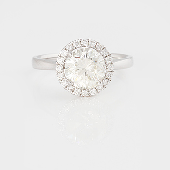RING med briljantslipad diamant ca 2.00 ct.