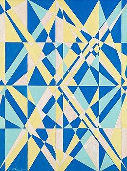 """28. BERTIL ÖHLUND, """"Dioptrique bleu""""."""