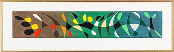 PIERRE OLOFSSON, färglitografi, signerad och numrerad 128/200.
