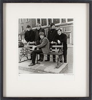 """PHILIP TOWNSEND, gelatinsilverfotografi """"Rolling Stones"""", signerad Philip Townsend och numrerad 2/50."""