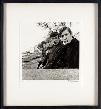"""PHILIP TOWNSEND, gelatinsilverfotografi """"Rolling Stones"""", signerad Philip Townsend och numrerad 7/50."""