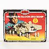 Star wars, millennium falcon i palitoy kartong, empire strikes back, 1980