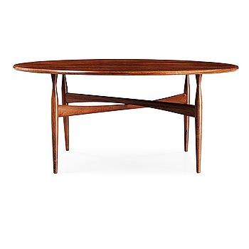 45. Ib Kofod Larsen, a palisander sofa table, Christensen & Larsen, Denmark 1950's-60's.
