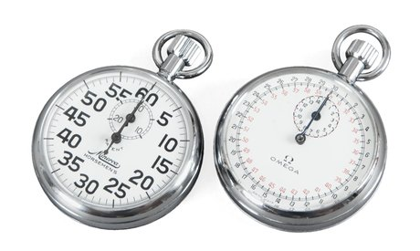Two stop watches,