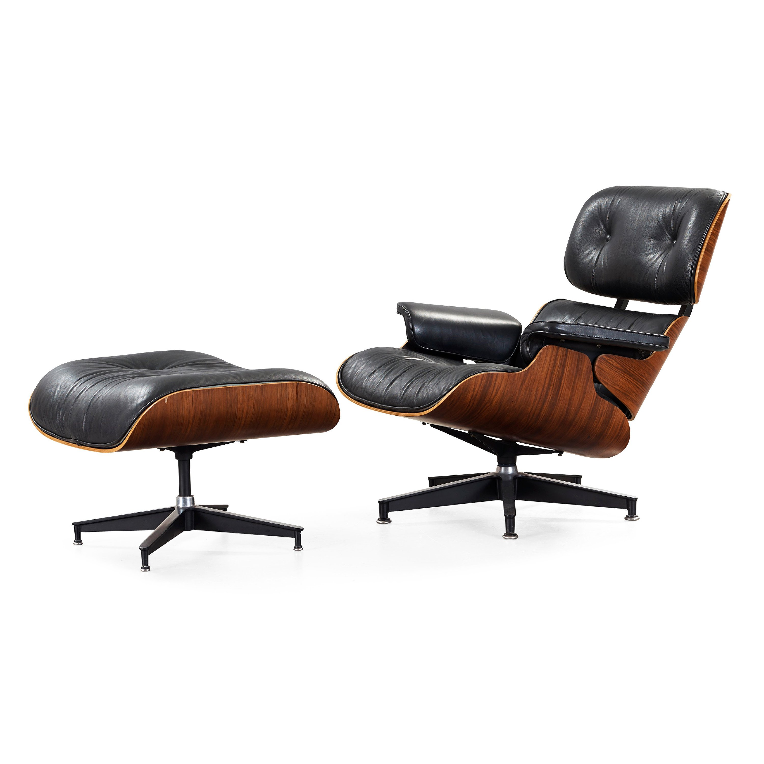 Magnificent Charles Ray Eames Lounge Chair With Ottoman Herman Machost Co Dining Chair Design Ideas Machostcouk