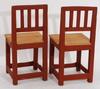 Kista samt stolar, ett par.