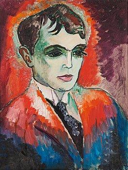 51. ISAAC GRÜNEWALD, Poeten Herman Wildenvey.