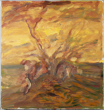 IVAR MORSING, IVAR MORSING, oil on canvas, signed.