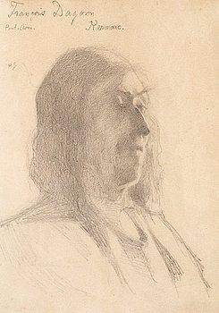 """997. Helene Schjerfbeck, """"Francois Dagorn""""."""