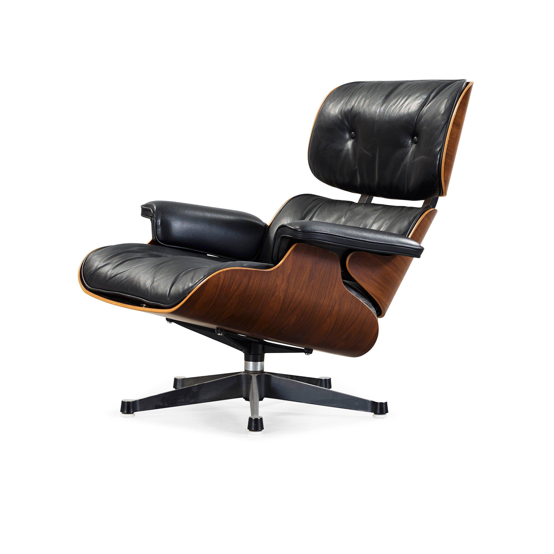A Charles Amp Ray Eames Lounge Chair Vitra Bukowskis
