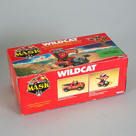 M.a.s.k, buzzard och wildcat i oöppnade förpackningar, kenner, 1985