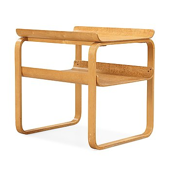 9. Alvar Aalto, a 'model 75' birch table, made on license by Aalto Design Hedemora for Artek, Sweden 1946-56.