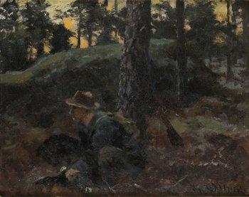 712. THURE WALLNER Jägare med tjäder