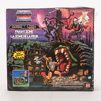 MASTERS OF THE UNIVERSE, Fright zone playset i förpackning, Mattel, 1985.