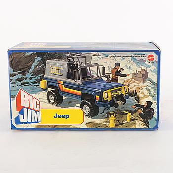 BIG JIM, Jeep i förpackning, Mattel, 1981.