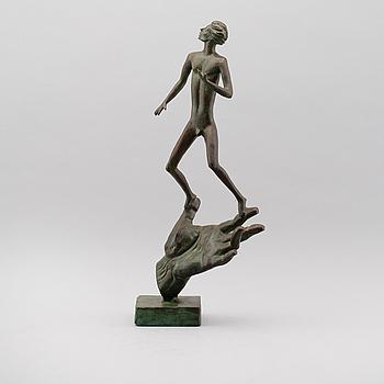 CARL MILLES, efter, skulptur, brons, märkt Millesgården Collection.