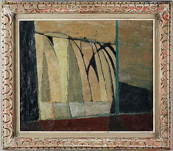 IVAR MORSING, oil on canvas, signed and dated 1951.