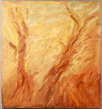 IVAR MORSING, oil on canvas, stamped signature.