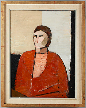 IVAR MORSING, oil on canvas, signed and dated -59.