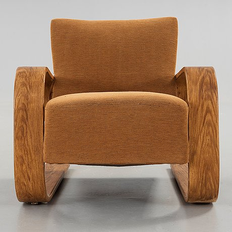 ALVAR AALTO a model 400 easy chair The Tank made on license by