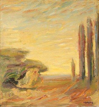 65. IVAR MORSING, Landskap från Provence.