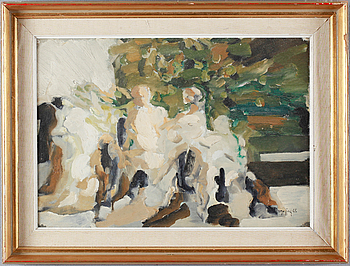 IVAR MORSING, oil on canvas, signed and dated -65.