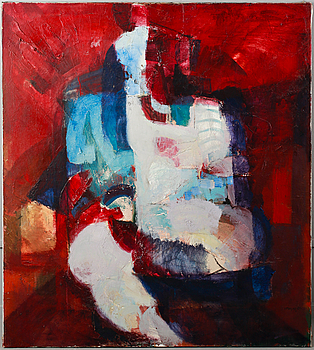 IVAR MORSING, oil on canvas, signed and dated -69.