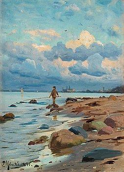995. Peder Mork Mönsted, Boy fishing.