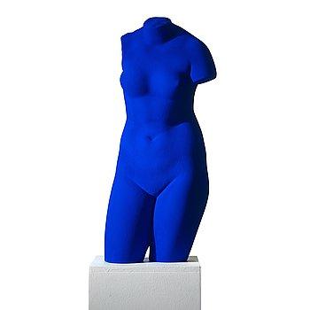 """307. Yves Klein, """"La Vénus d'Alexandrie (Vénus Bleue)""""."""