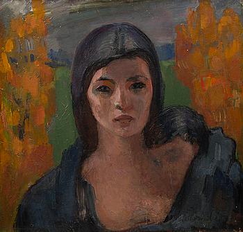 """WÄINÖ AALTONEN, """"PATH OF A LONELY WOMAN""""."""