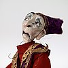 """Nathalie djurberg, """"puppets from the parade of rituals and stereotypes 3""""."""