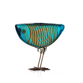 138. Alessandro Pianon, a 'Pulcino' glass bird, Vistosi, Italy 1960's.