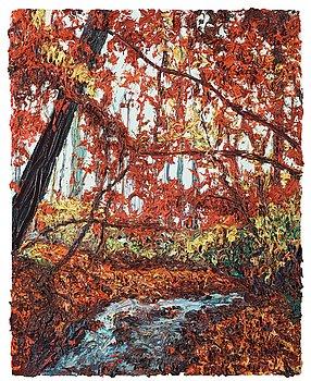 "343. Robert Terry, ""Red Maple Creek""."