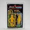 Star wars, amanaman potf 92 back afa85 y nm+, kenner 1985