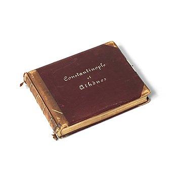 803. GUILLIAUME GUSTAVE BERGGREN (1835-1920), 47 albumen prints, Constantinople et Athènes.