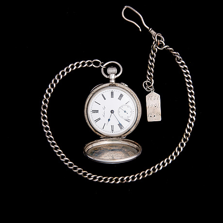 Imperial gift watch, silver, russia, pavel buhre, dated 4.7.1901.