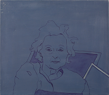 CECILIA WESTERBERG, CECILIA WESTERBERG, olja på duk, signerad och daterad 2001 à tergo.