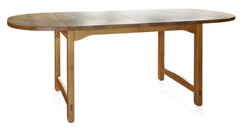 2. A PINE DINNER TABLE,