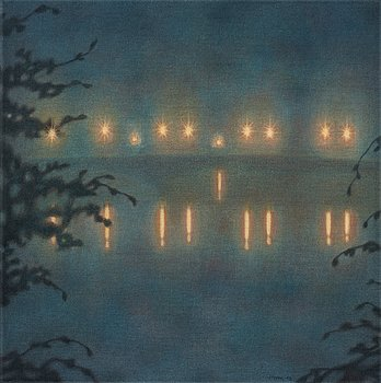 "858. Stefan Johansson, ""Bron i dimma"" (The Bridge in Fog)."