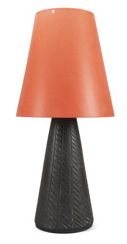 A table  lamp,