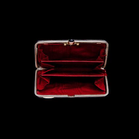 PortmonÄ, silver, ryssland, st.petersburg ca 1900, anders nevalainen, total vikt 134 g.