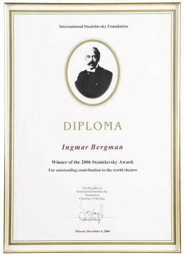 A diploma,
