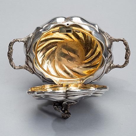 SockerskÅl, silver, litauen, vilnius 1858, daniszewski vikt 836 g