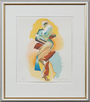 ALLEN JONES, seriegrafi, signerad och numrerad 31/200.