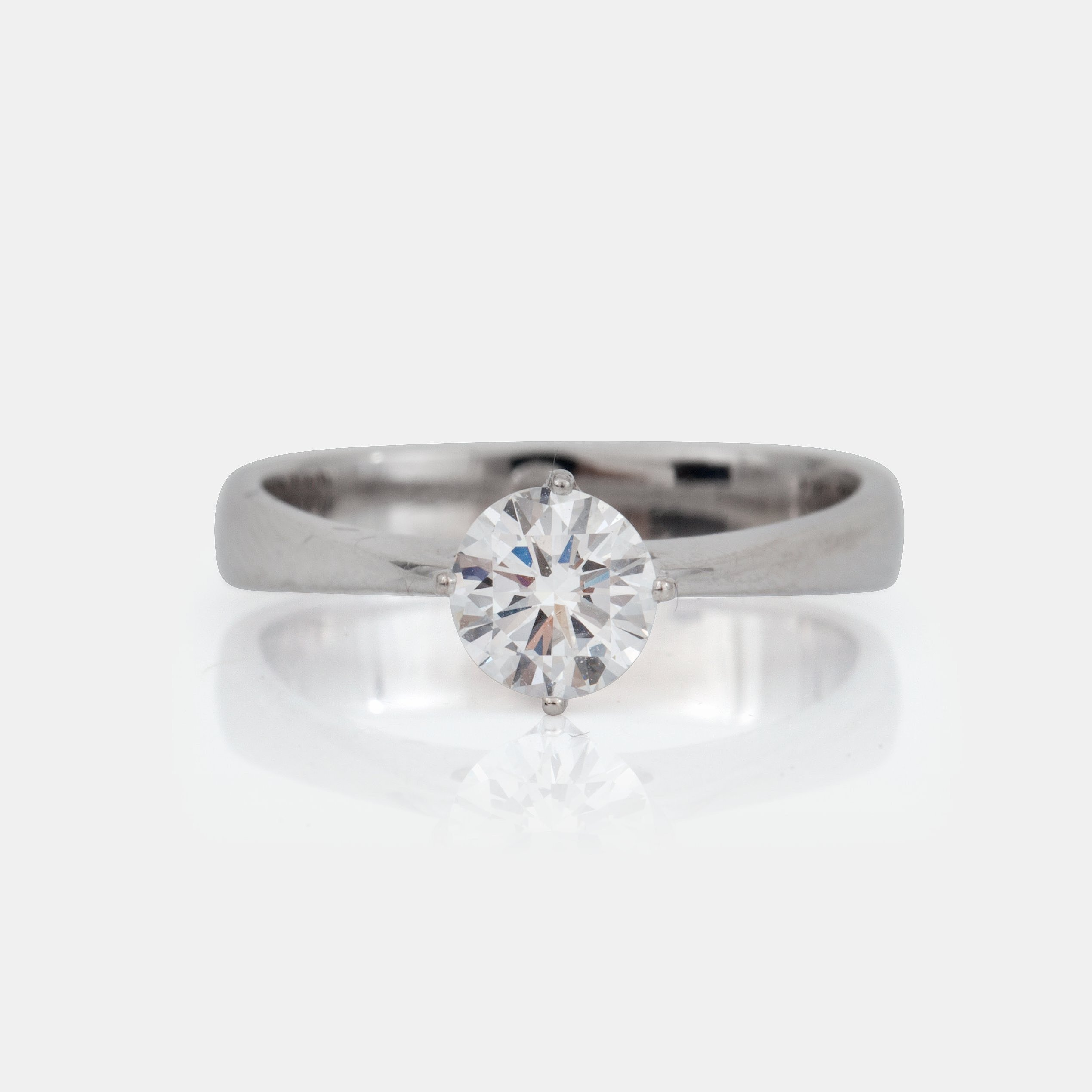 A Georg Jensen diamond 073 ct ring Quality DIF according to
