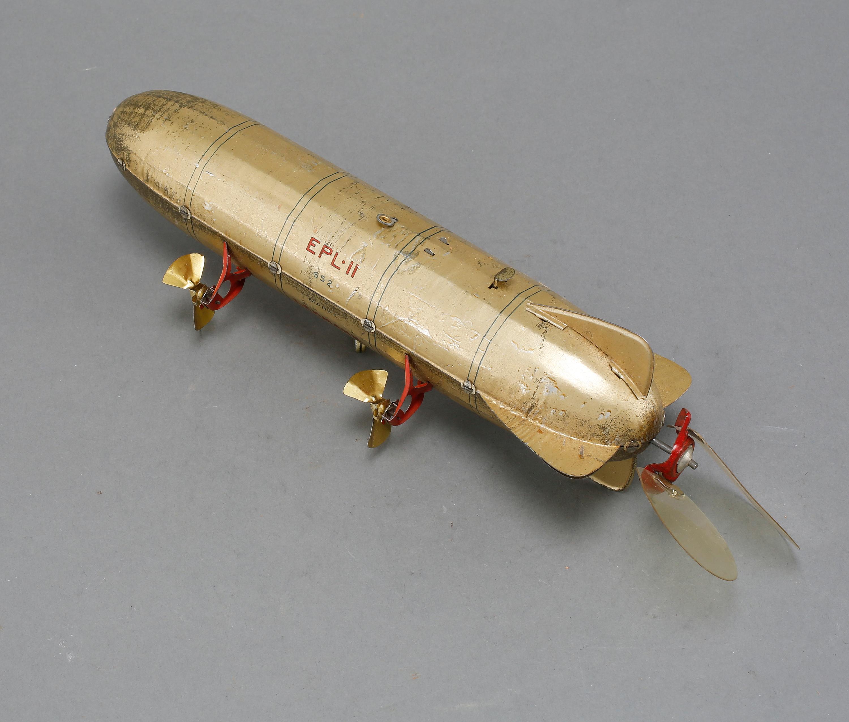 LEKSAK, Zeppelinare, 'EPL II', Lehmann, Tyskland, 1900-talets början