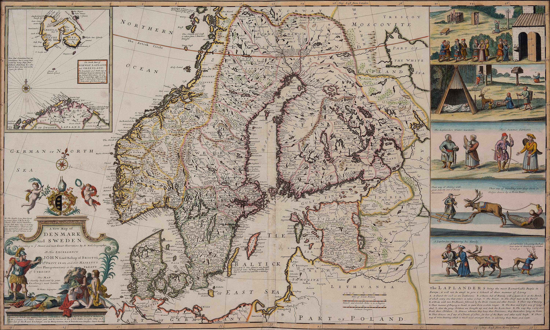 MAP, ca 1700. - Bukowskis